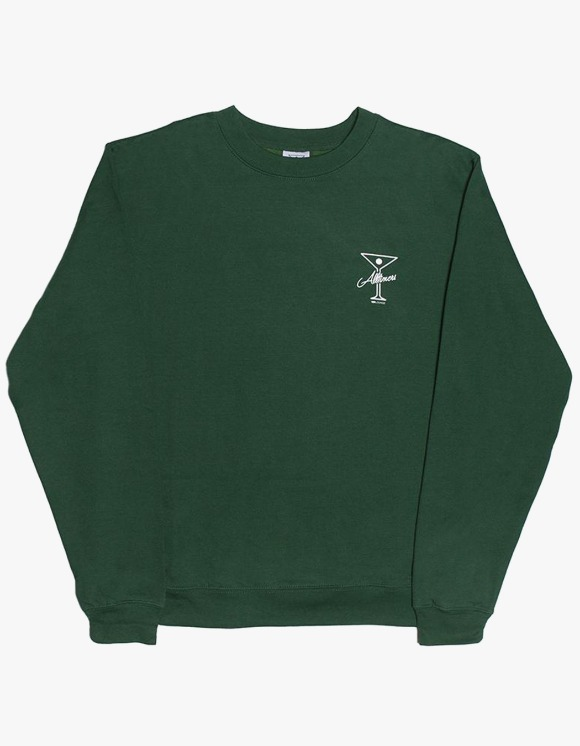Alltimers Reverse Crewneck - Dark Green | HEIGHTS. | International Store