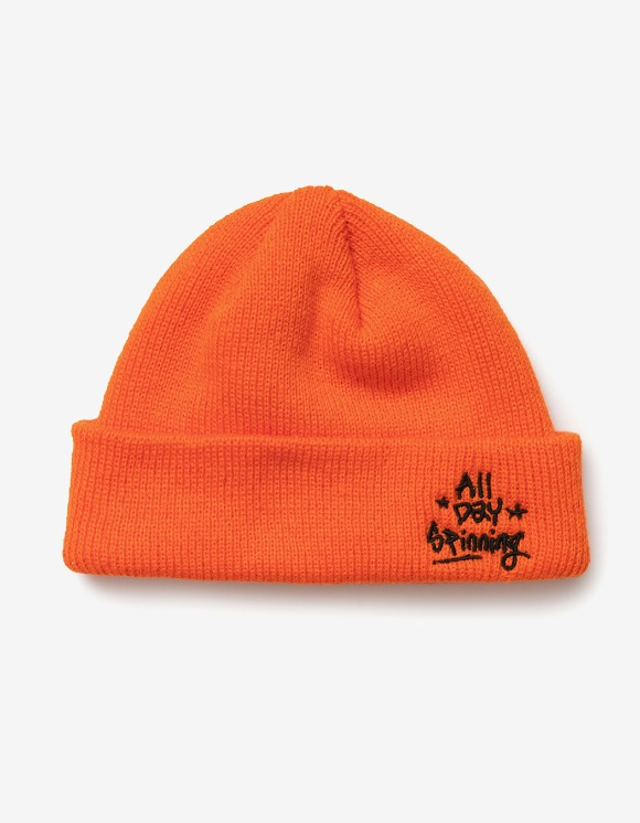 sounds good! All Day Spinning Beanie - Orange | HEIGHTS. | International Store