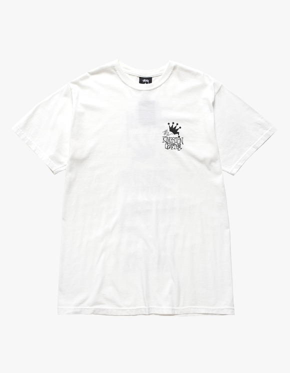 Stussy Kingston Chapter Pig.Dyed Tee - Natural | HEIGHTS. | International Store