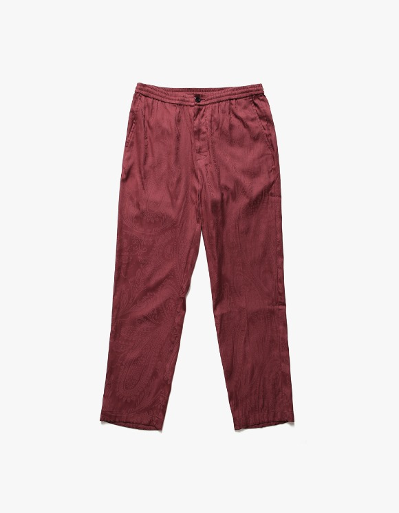 Stussy Bryan Paisley Pants - Burgundy | HEIGHTS. | International Store
