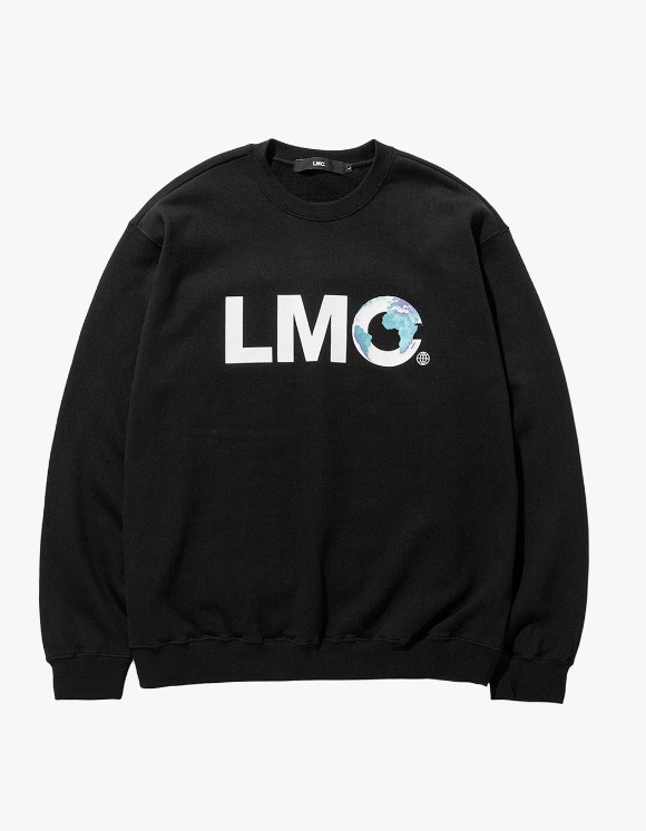 LMC LMC EARTH LOGO SWEATSHIRT black | HEIGHTS. | International Store