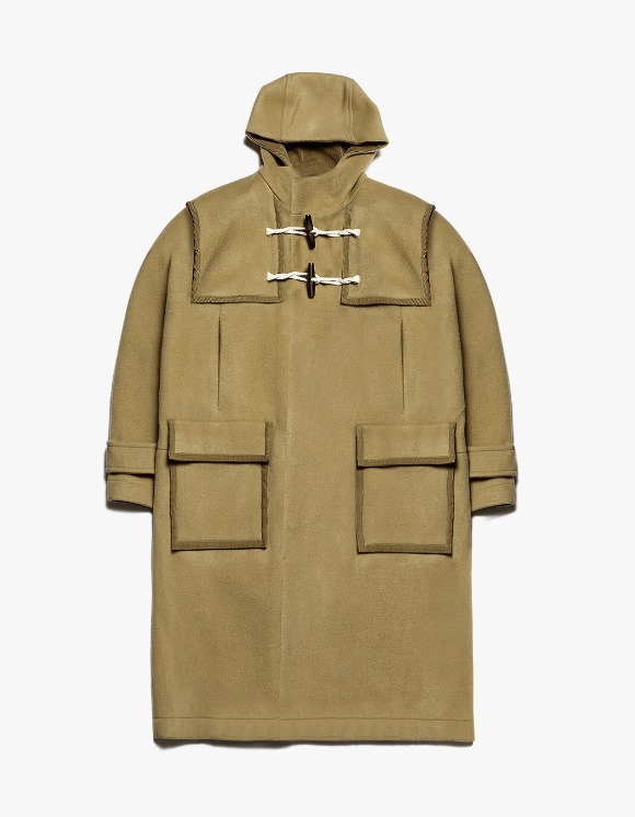 AECA WHITE Finale Duffle Coat - Camel | HEIGHTS. | International Store