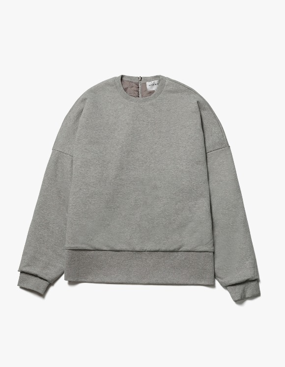 AECA WHITE Reversible Quilted Sweatshirt - Grey | HEIGHTS. | International Store