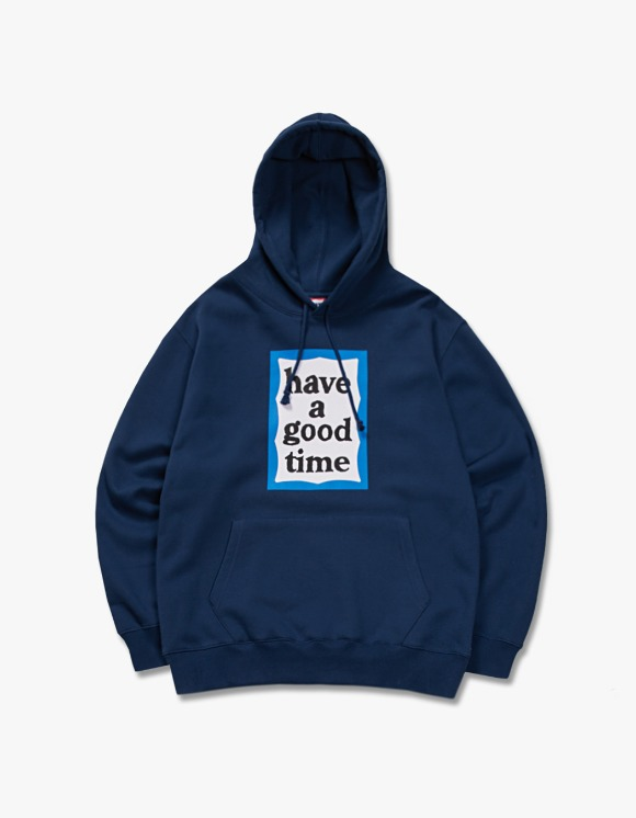 have a good time Blue Frame Pullover Hoodie - Midnight Blue | HEIGHTS. | International Store