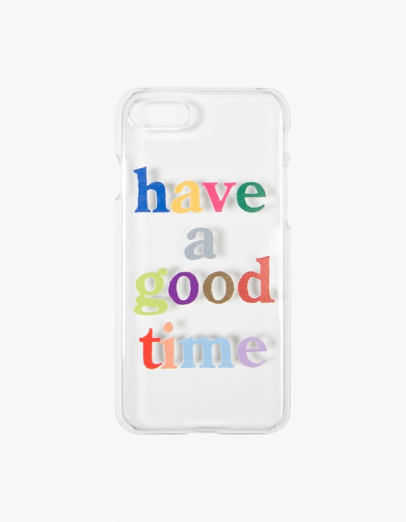 have a good time Colorful Logo Clear iPhone Case - 6,7,8 | HEIGHTS. | International Store