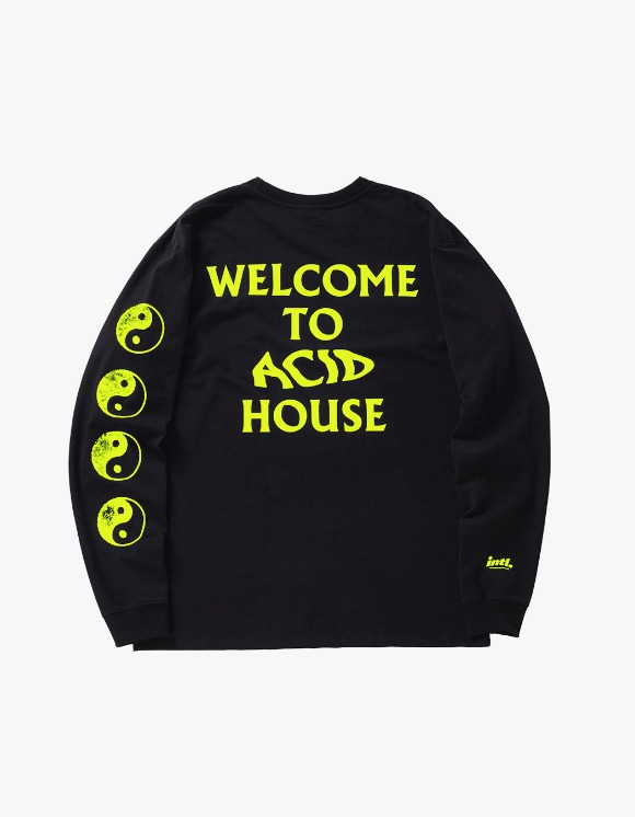 The Internatiiional ACID Ying Yang L/S - Flou Yellow | HEIGHTS. | International Store
