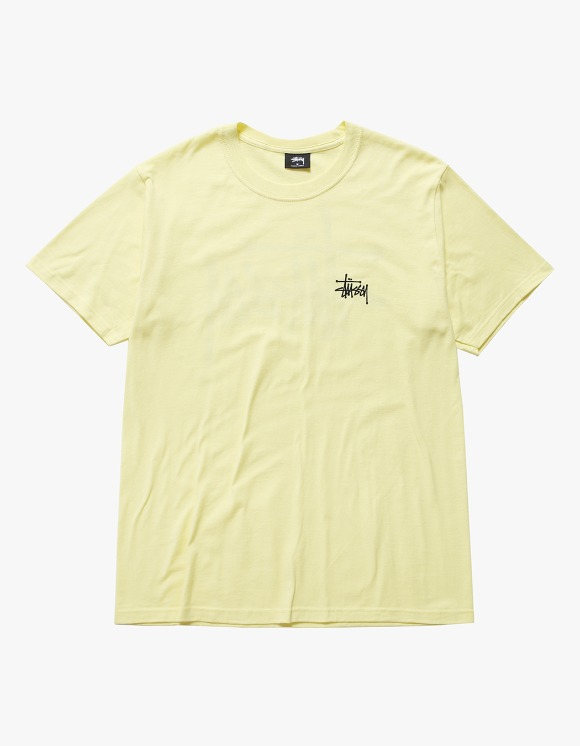 Stussy Basic Stussy Tee - Lemon | HEIGHTS. | International Store