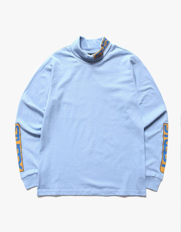 Stussy Shift LS Turtleneck - Blue | HEIGHTS. | International Store