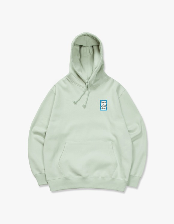 have a good time Blue Mini Frame Pullover Hoodie - Pistachio | HEIGHTS. | International Store
