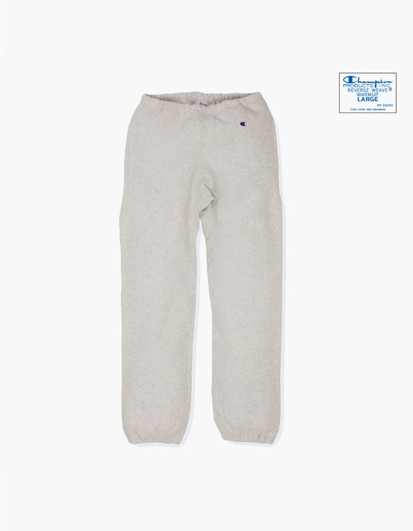 Champion Reverse Weave® Blue Tag Sweat Pant - Oatmeal | HEIGHTS. | International Store