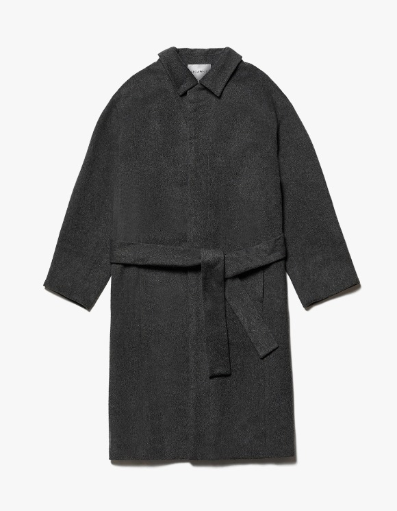 AECA WHITE Finale Long Coat - Charcoal | HEIGHTS. | International Store