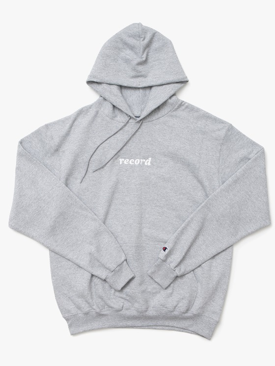 sounds good! Record Hoodie - Grey | HEIGHTS. | International Store