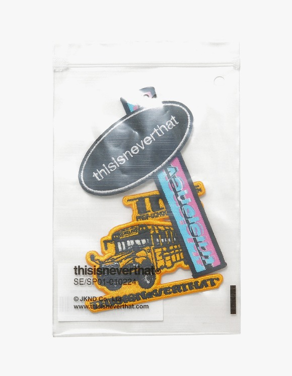 thisisneverthat School Bus Patch Set | HEIGHTS. | International Store