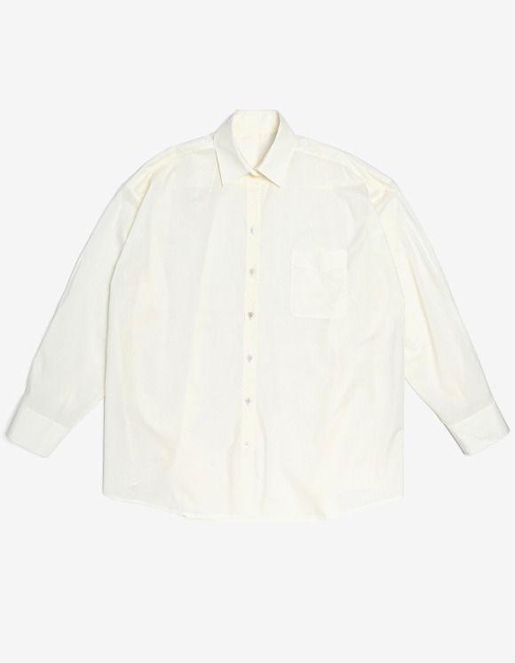 s/e/o Cotton Boxy Shirt - Ecru | HEIGHTS. | International Store