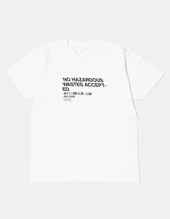 s/e/o No Waste Tee - White | HEIGHTS. | International Store