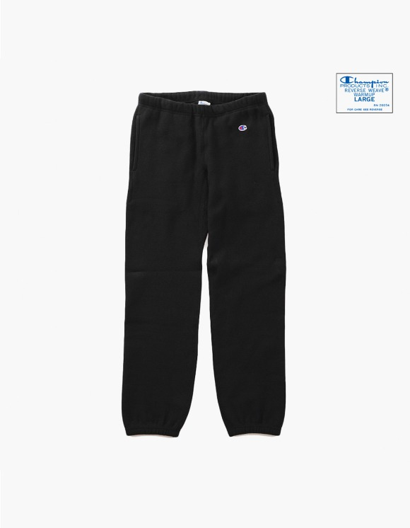 Champion Reverse Weave® Blue Tag Sweat Pant - Black | HEIGHTS. | International Store
