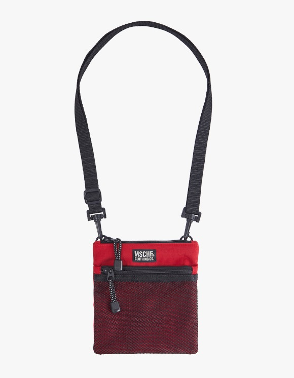MISCHIEF Cross Pouch - Red | HEIGHTS. | International Store
