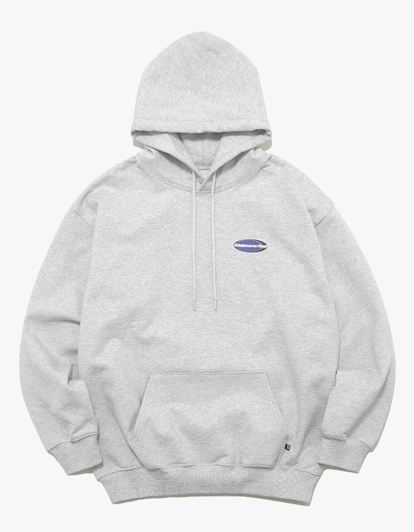 thisisneverthat NEW SPORT Hooded Sweatshirt - Light Grey | HEIGHTS. | International Store