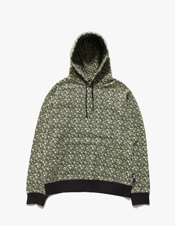 Stussy Vintage Bones Hoodie - Lime | HEIGHTS. | International Store
