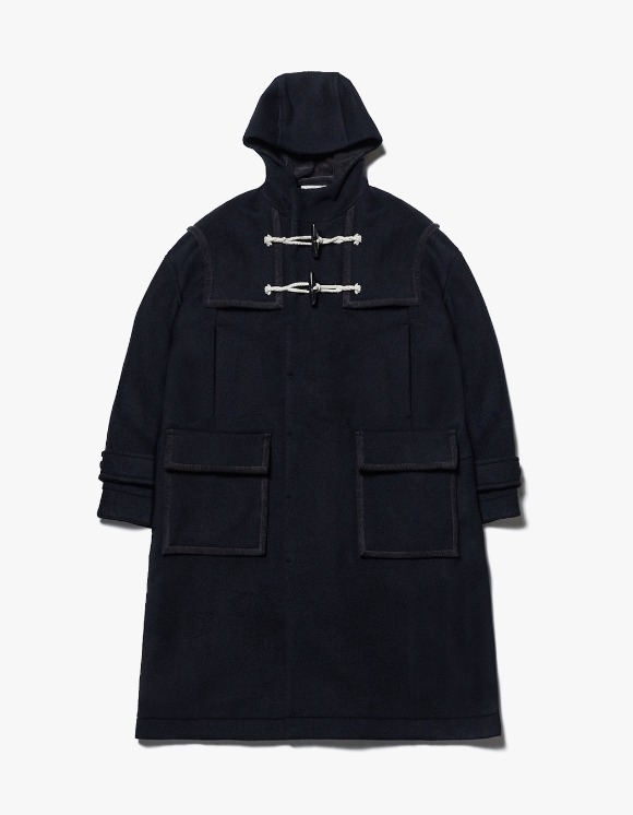 AECA WHITE Finale Duffle Coat - Deep Navy | HEIGHTS. | International Store