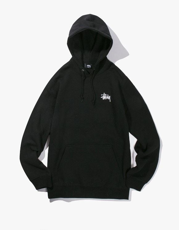 Stussy Basic Stussy Hood - Black | HEIGHTS. | International Store