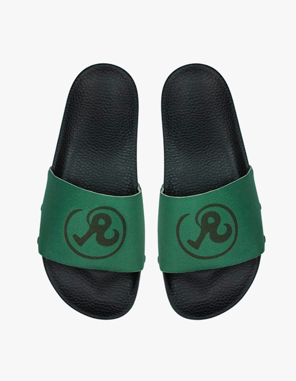 Richardson Shower Slides - Green | HEIGHTS. | International Store