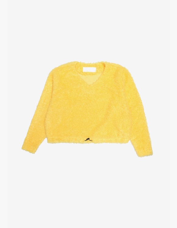 s/e/o Curly Sweater -Yellow | HEIGHTS. | International Store