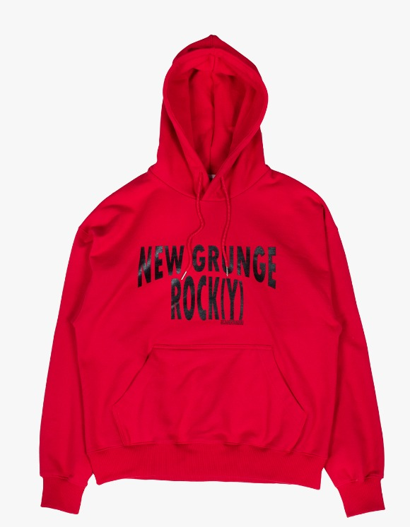 JOEGUSH NEW GRUNGE ROCK(Y) Hoodie Lv.1 - Red | HEIGHTS. | International Store