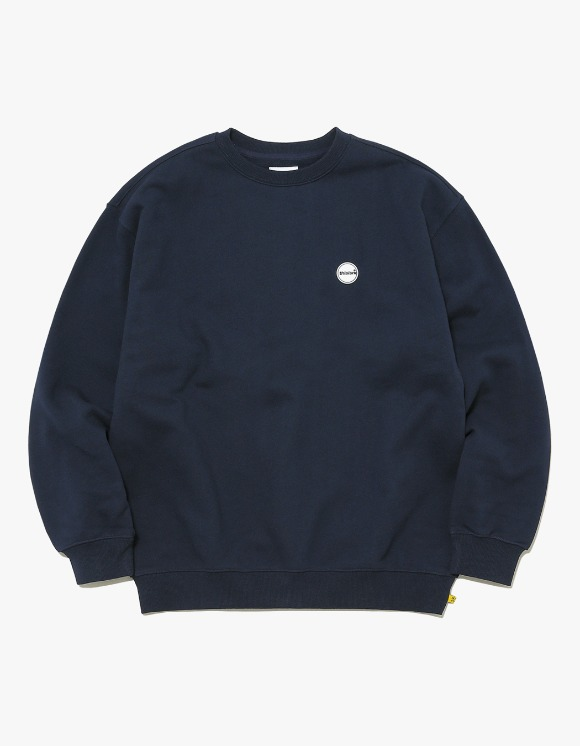thisisneverthat Rubber C-Logo Crewneck - Navy | HEIGHTS. | International Store