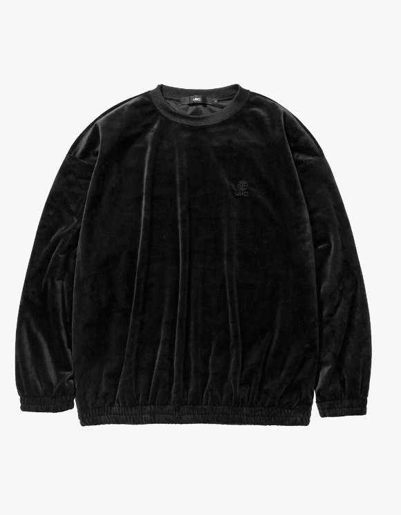 LMC LMC VELOUR OVERSIZED SWEATSHIRT black | HEIGHTS. | International Store