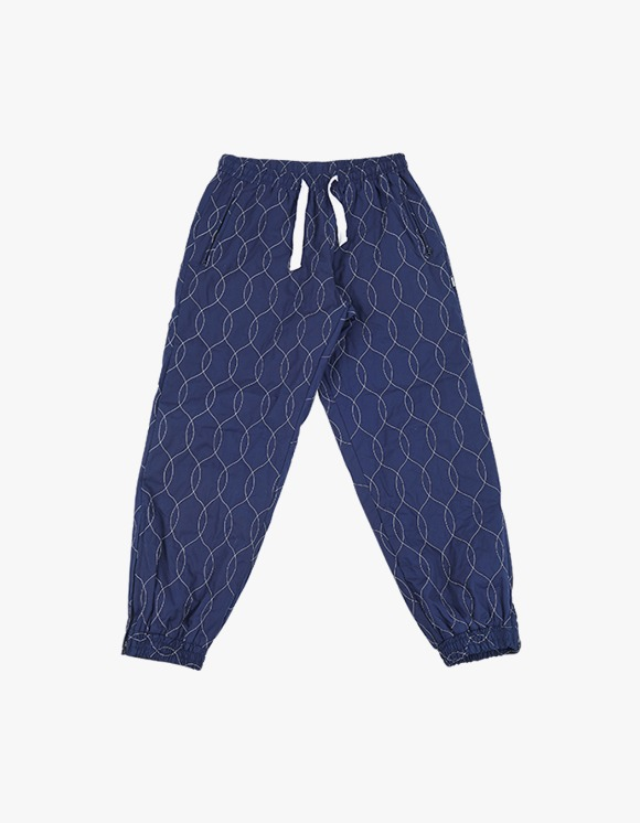 yeseyesee Quilted Jogger Pants  - Navy | HEIGHTS. | International Store