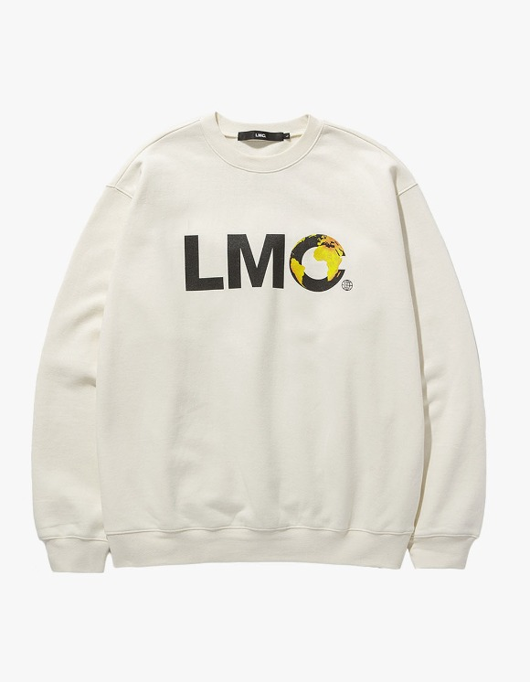 LMC LMC EARTH LOGO SWEATSHIRT cream | HEIGHTS. | International Store