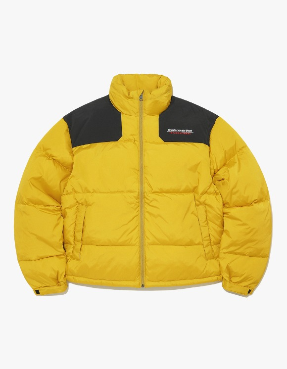 thisisneverthat SP-INTL. Sport Down Jacket - Yellow | HEIGHTS. | International Store