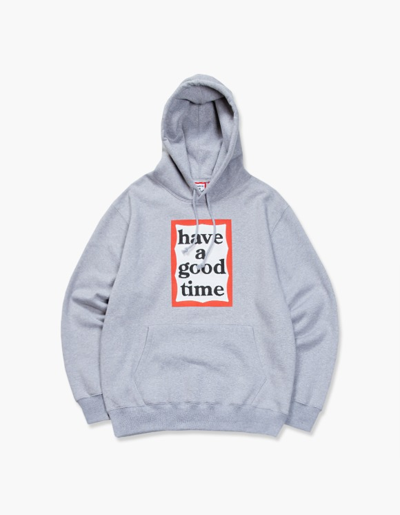 have a good time Frame Pullover Hoodie - Heather Grey | HEIGHTS. | International Store