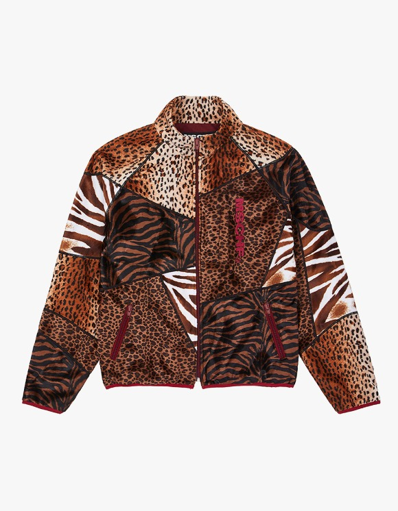 MISCHIEF Animal Patchwork Zip-up - Multi | HEIGHTS. | International Store
