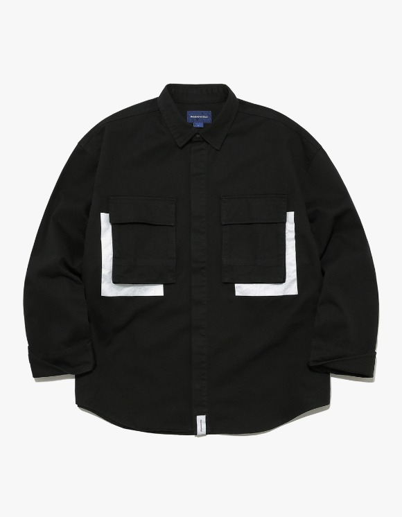 thisisneverthat Jungle Shirt Jacket - Black | HEIGHTS. | International Store