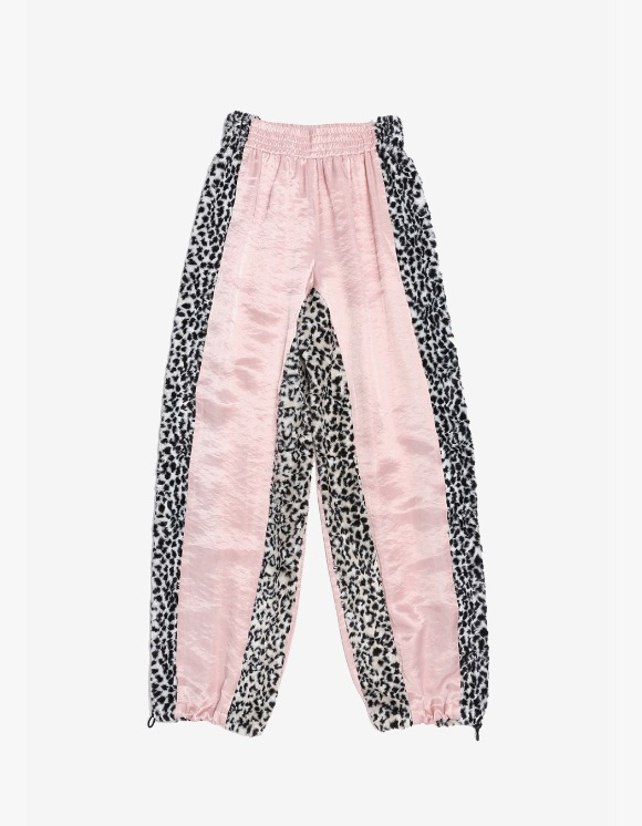 s/e/o Side Fur Pants - Pink | HEIGHTS. | International Store