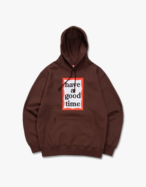have a good time Frame Pullover Hoodie - Chocolate | HEIGHTS. | International Store