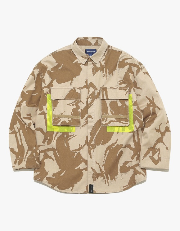 thisisneverthat Jungle Shirt Jacket - Dessert Camo | HEIGHTS. | International Store