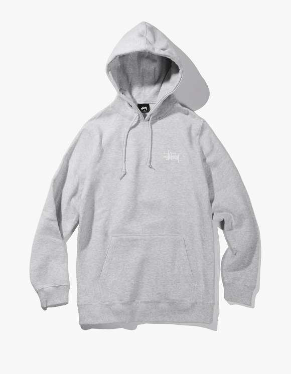 Stussy Basic Stussy Hood - Heather Grey | HEIGHTS. | International Store
