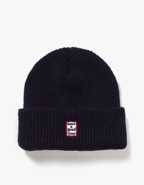 have a good time Mini Mini Frame Beanie - Navy | HEIGHTS. | International Store