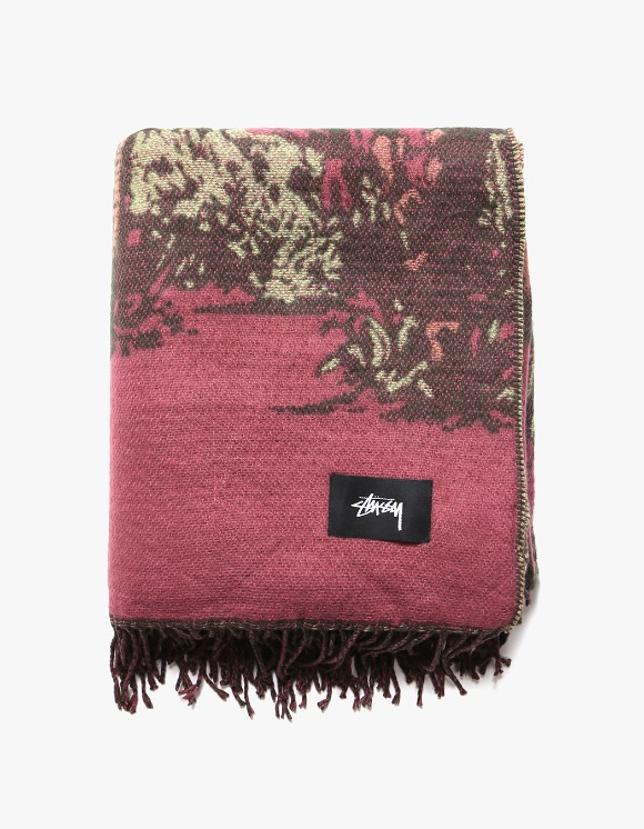 Stussy Double Faced Palm Tree Blanket | HEIGHTS. | International Store