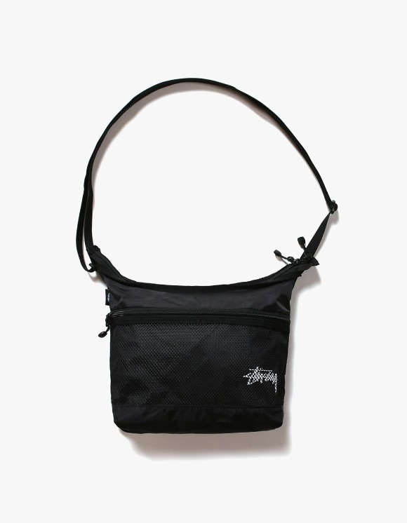 Stussy Light Weight Shoulder Bag - Black | HEIGHTS. | International Store
