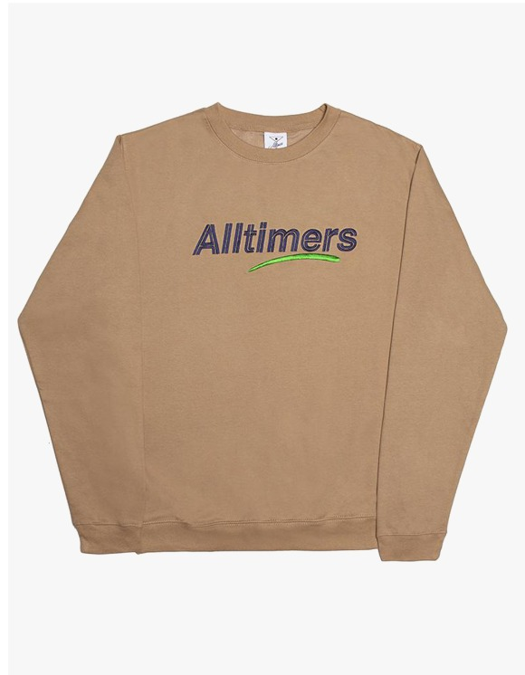 Alltimers Estate Crewneck - Sand | HEIGHTS. | International Store