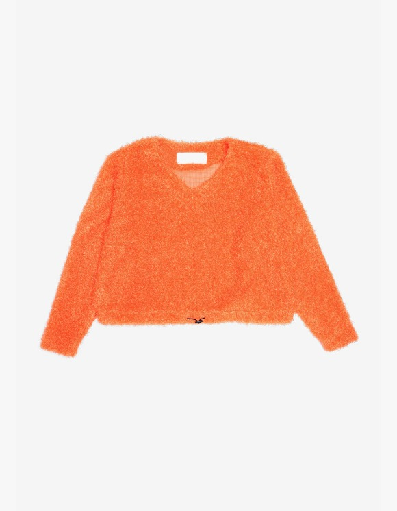 s/e/o Curly Sweater -Orange | HEIGHTS. | International Store