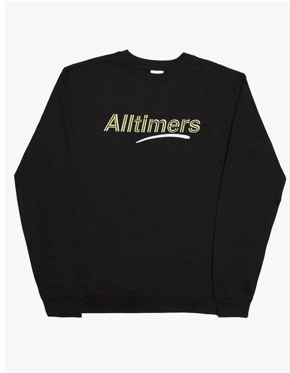 Alltimers Estate Crewneck - Black | HEIGHTS. | International Store