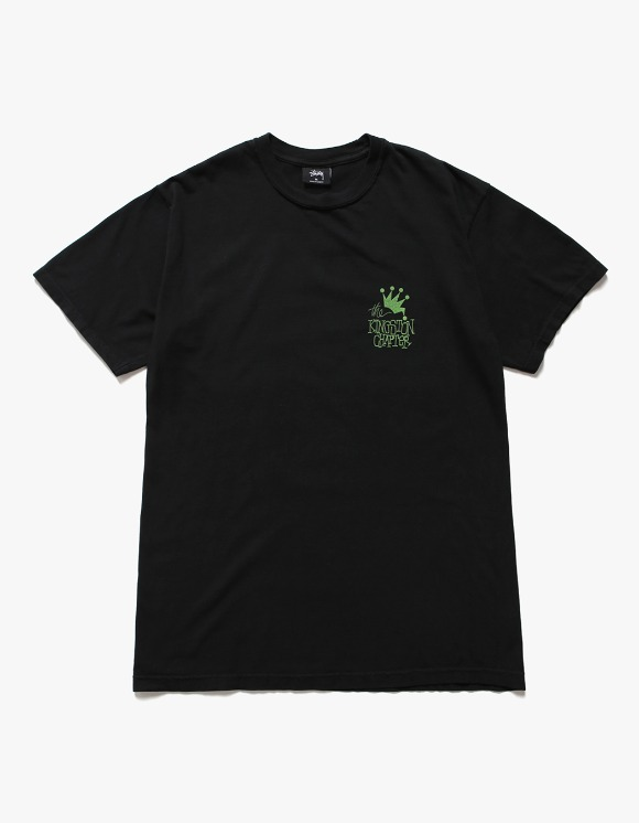 Stussy Kingston Chapter Pig.Dyed Tee - Black | HEIGHTS. | International Store