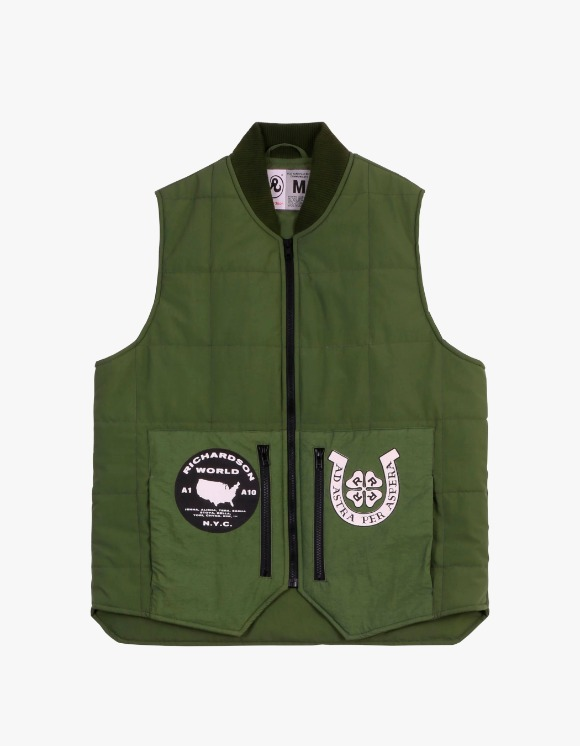 Richardson Embellished Quilted Vest | HEIGHTS. | International Store