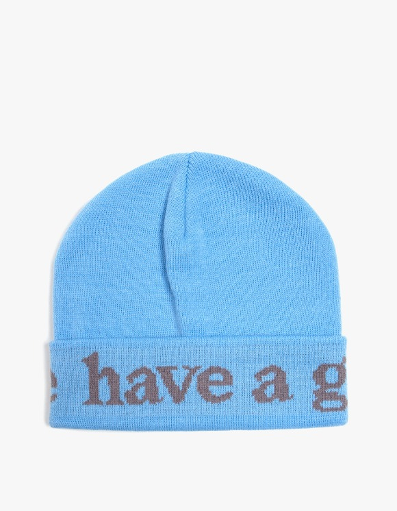 have a good time Side Logo Beanie - Blue | HEIGHTS. | International Store