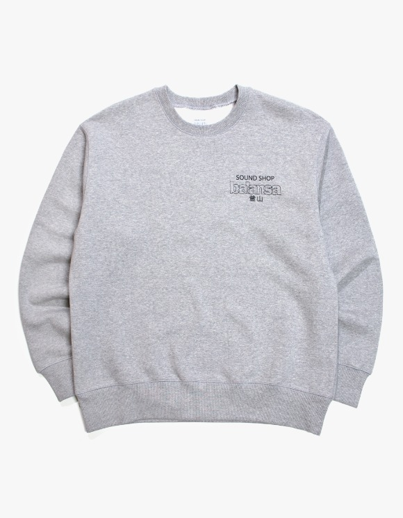 Balansa Balansa Logo Crewneck - Grey | HEIGHTS. | International Store